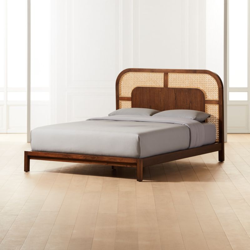 Nadi Cane Queen Bed