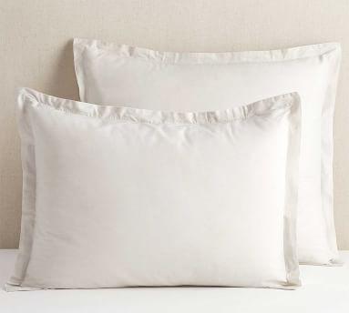Spencer Washed Cotton Duvet, King/Cal King, White