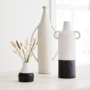 Shape Studies Vase, Jug, Tall Bottle, Bud Vase, Set of 3