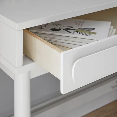 Tilden Small Space Desk, Dark Walnut, In-Home