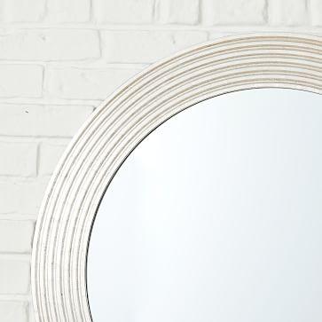 Nile Mirror, Round, Gold