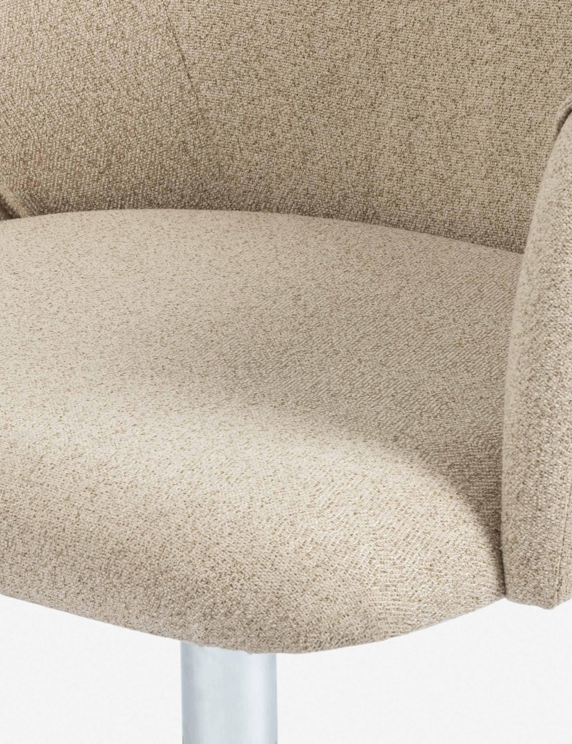 Satine Desk Chair, Fedora Oatmeal