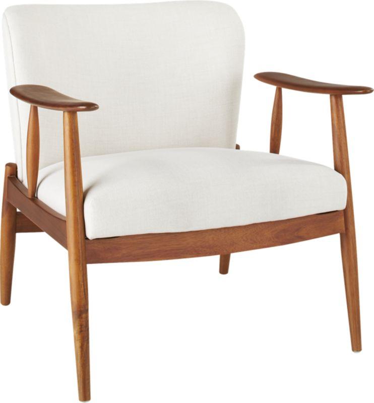 Troubadour Natural Wood Frame Chair