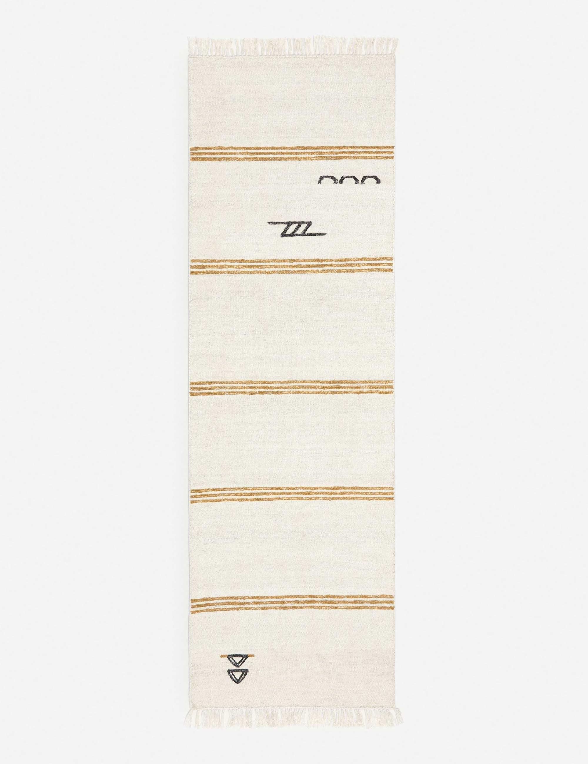Iconic Stripe Rug By Sarah Sherman Samuel 8' x 10'