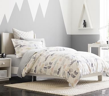 Milo Bed, Twin, Simply White, In-Home Delivery