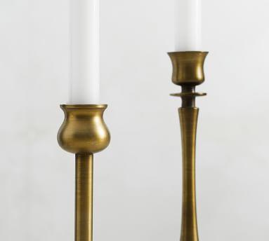 Booker Candlesticks, Brass, Set of 4