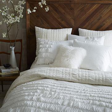 Alexa Bed Set, King, Light Honey