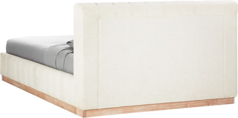Forte White Queen Bed