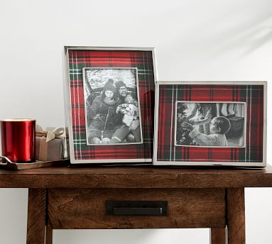 """Lynbrook Plaid Picture Frame, 4""""x 6"""""""