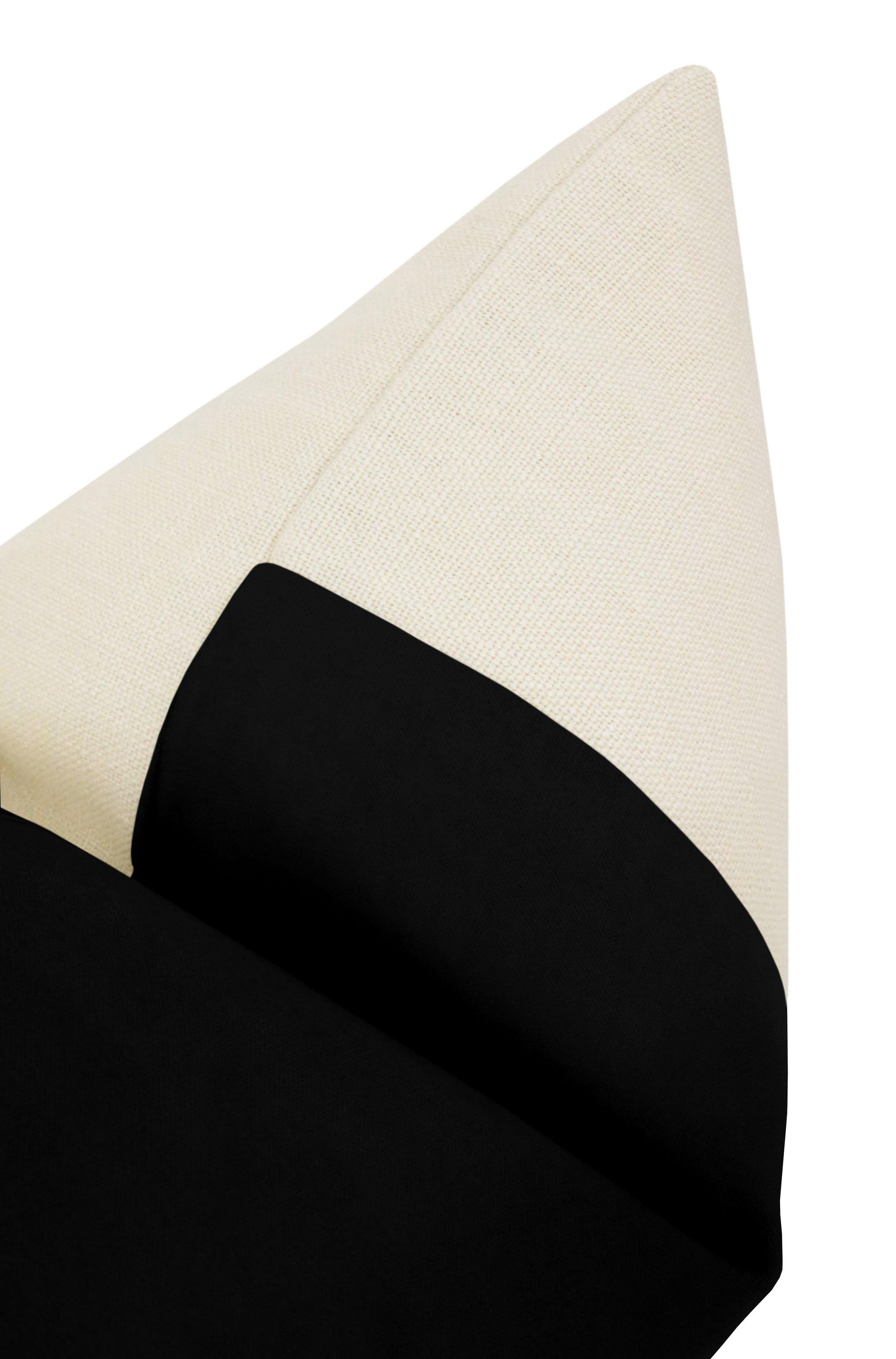"PANEL :: Classic Velvet // Caviar - Little Lumbar 12"" X 18"""