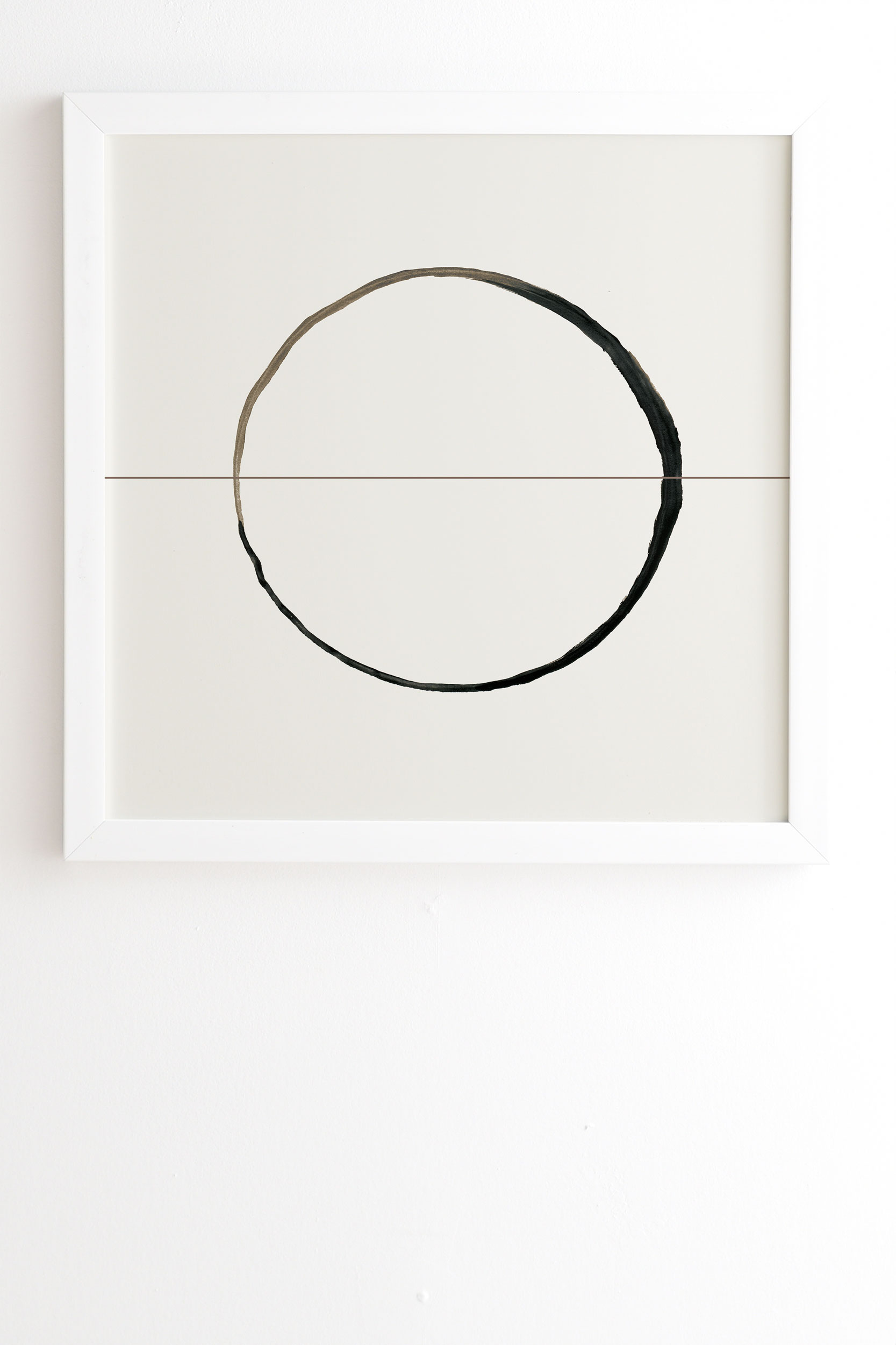 "C7 by Georgiana Paraschiv - Framed Wall Art Basic White 14"" x 16.5"""