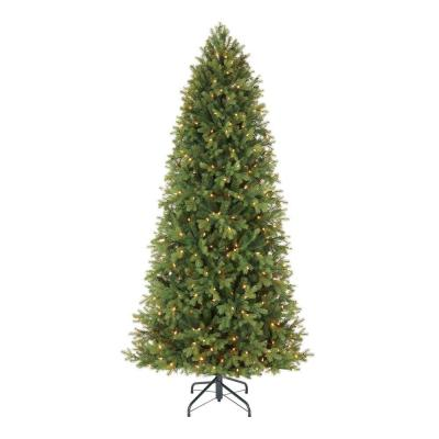 Home Decorators Collection 7.5 ft Lachlan Balsam Fir Slim LED Pre-Lit Artificial Christmas Tree with 460 Color Changing Lights with 7 Functions
