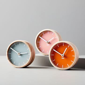 Tait Desktop Clock, Slate