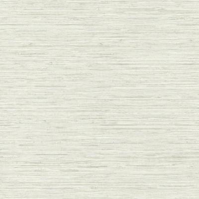 RoomMates 28.18 sq ft Grasscloth Peel and Stick Wallpaper, beige/ grey
