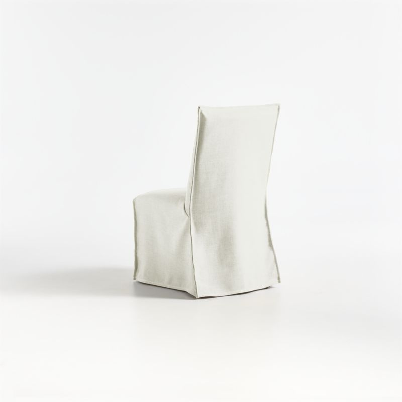Addison White Slipcovered Dining Chair