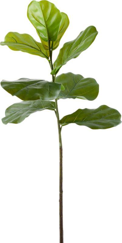 "Faux Fiddle Leaf Fig Stem 42.5"""