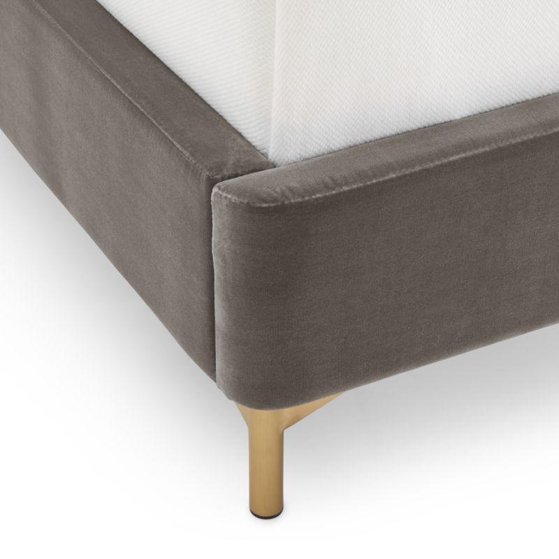 Ava Grey Queen Bed