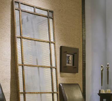 "La Marais Floor Mirror, Bronze, 1.5"" X 29"" X 80"""