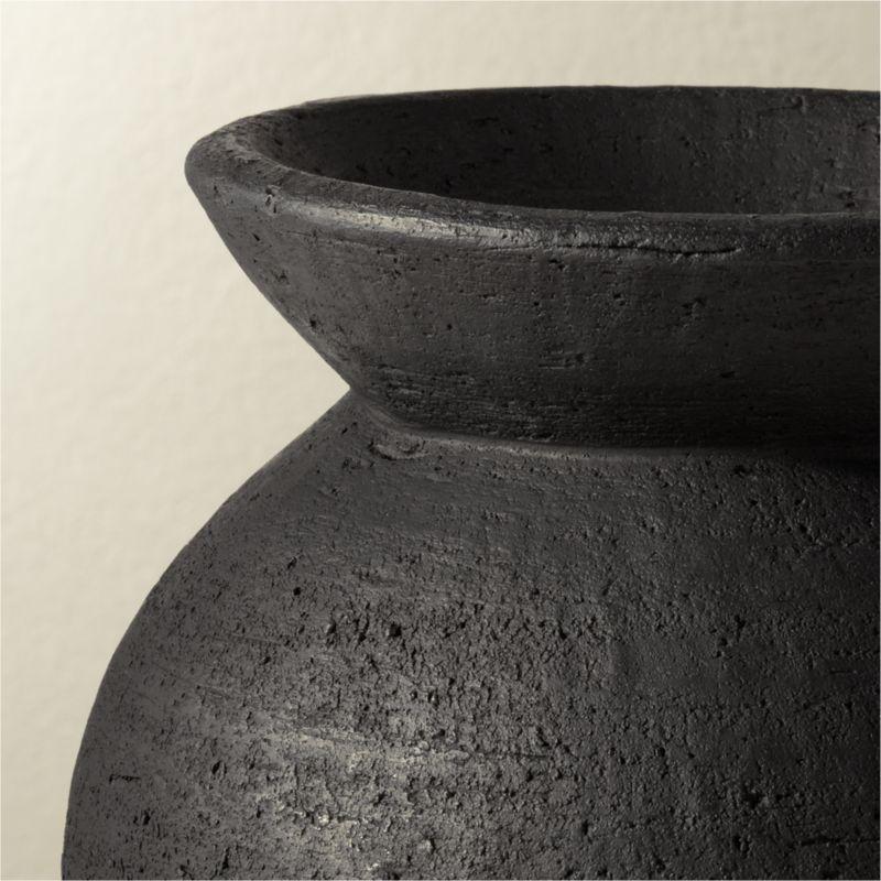 Victoria Black Vase (back in stock mid-June)