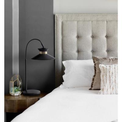 Bromi Design Gracie Black Arc Table Lamp