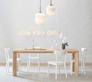 Prag Dining Chair, White