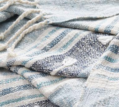 """Roxy Yarn Dye Throw, 50 x 60"""", Warm Multi"""