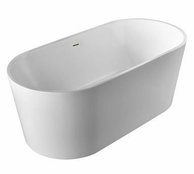 """Laferre 67"""" Freestanding Bathtub, Oil Rubbed Bronze"""