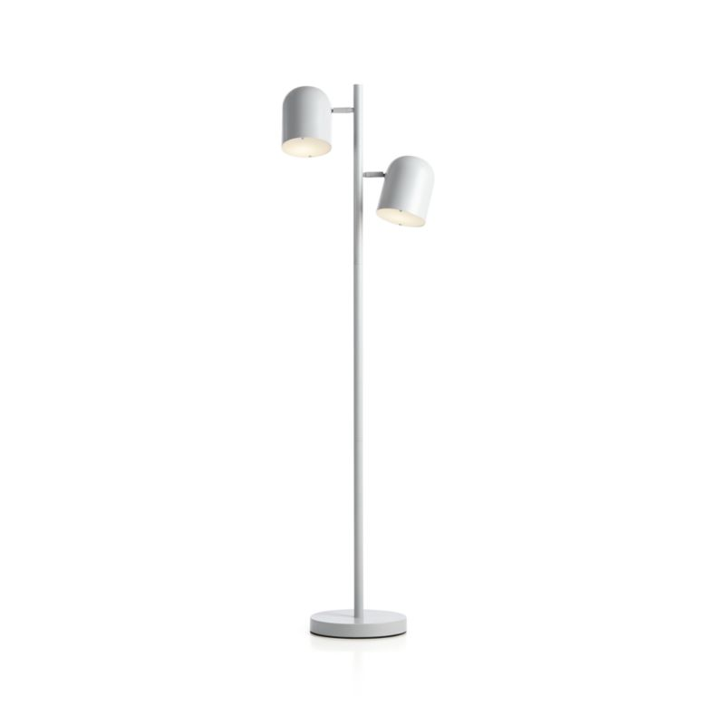 Gray Touch Floor Lamp