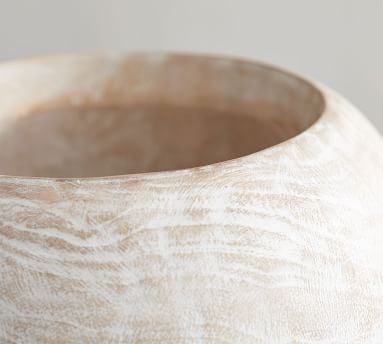 Wooden Vase, Small
