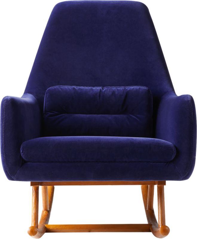 Saic Quantam Navy Rocking Chair