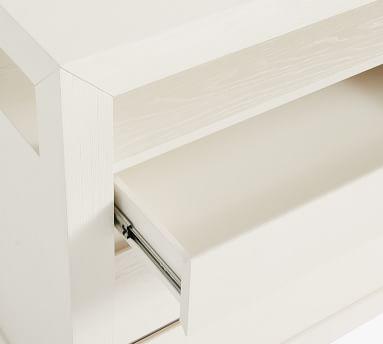 Dillon Wood 6-Drawer Dresser, Montauk White