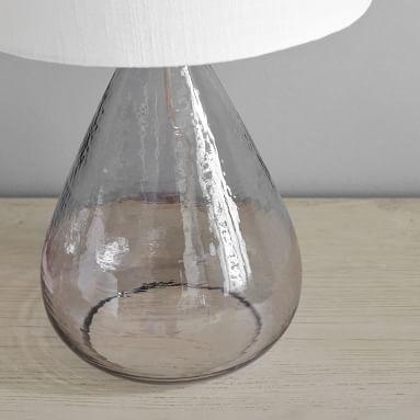 Waterdrop Table Lamp, Gray