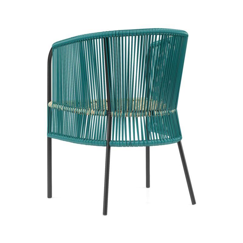 Verro Green Outdoor Dining Chair