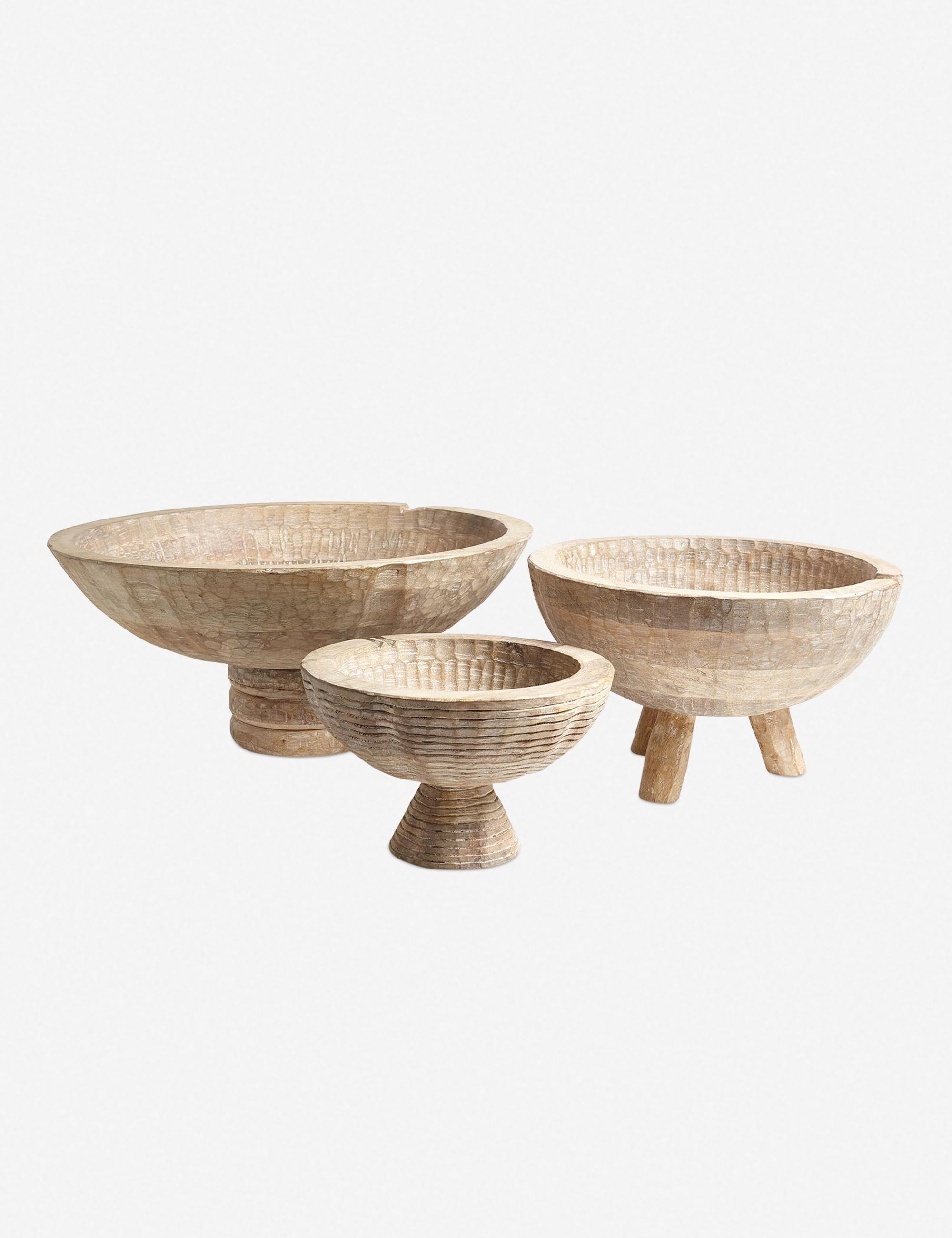 Lemieux et Cie Bovet Small Bowl, Light Wood