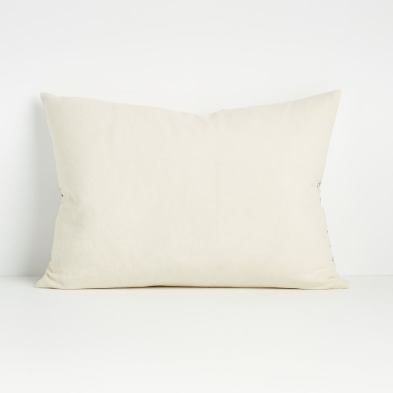 """Ivica 22""""x15"""" Pillow with Feather-Down Insert"""