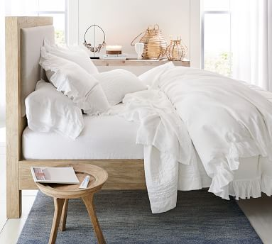 Linwood Bed, Bone White, King
