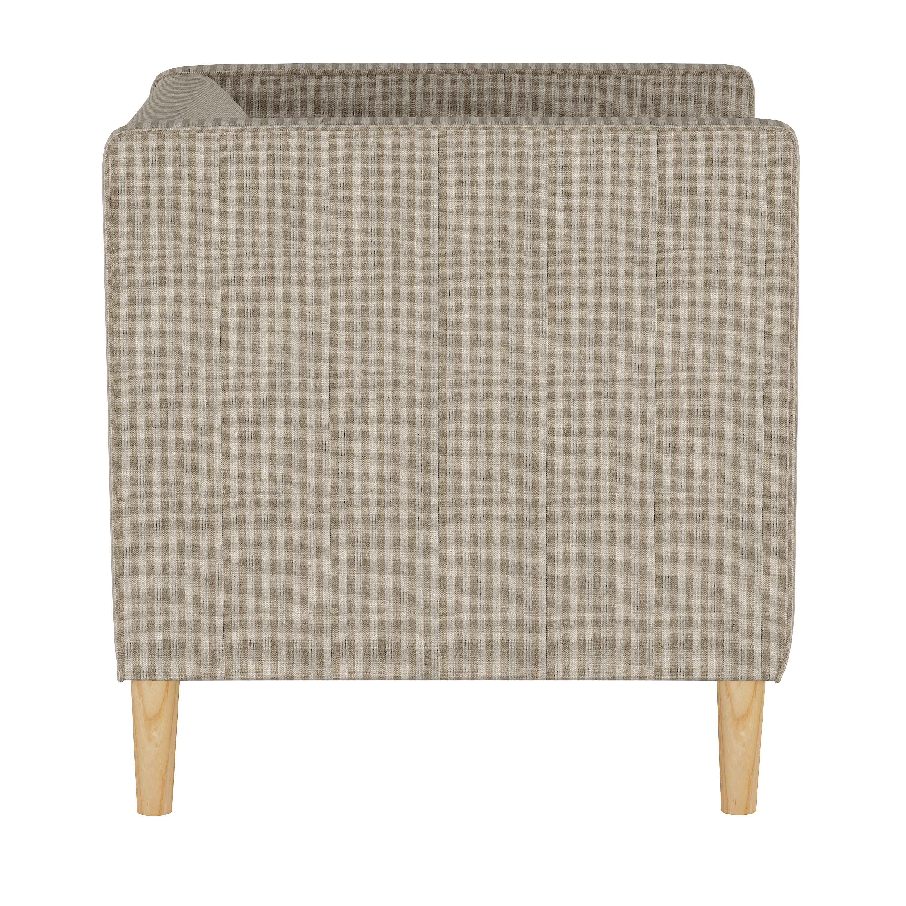 Humboldt Chair, Scout Stripe Taupe
