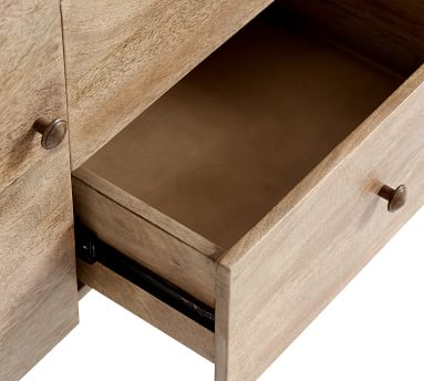 Planked Sideboard Buffet, Distressed Mango