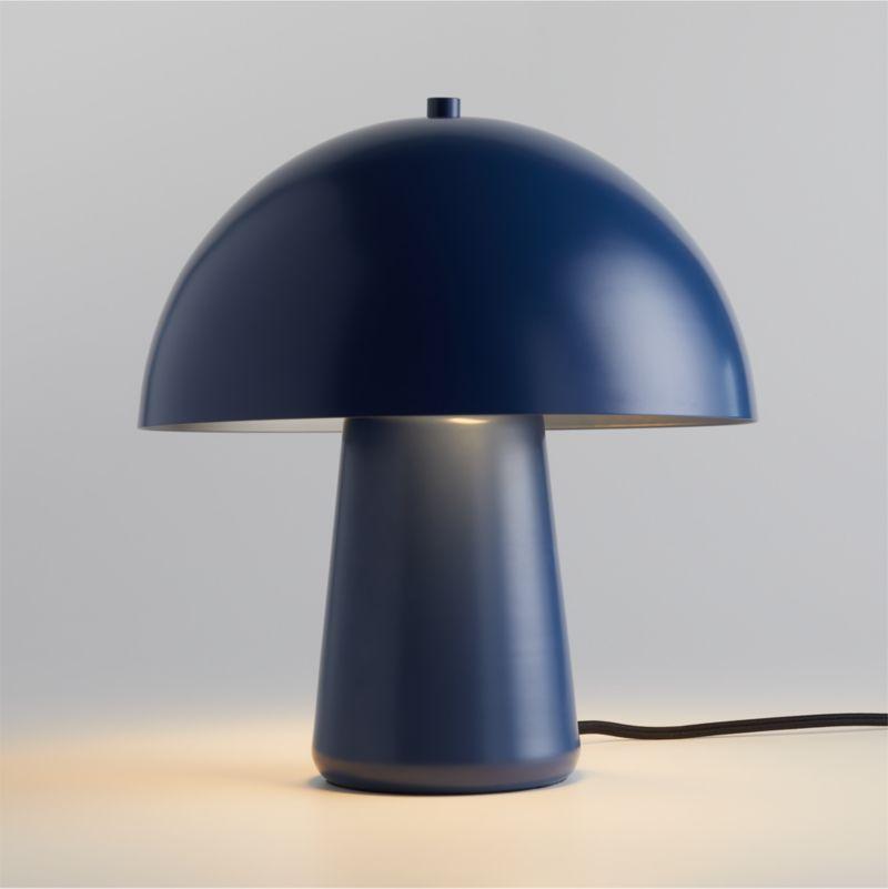 Joy Indigo Clay Lamp