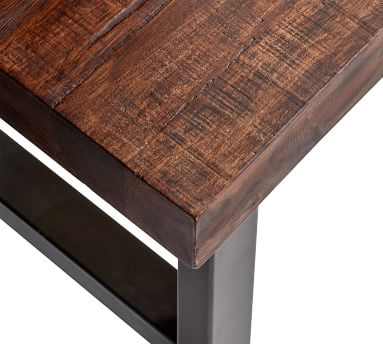 """Griffin Small Space Reclaimed Wood Coffee Table, 33"""""""
