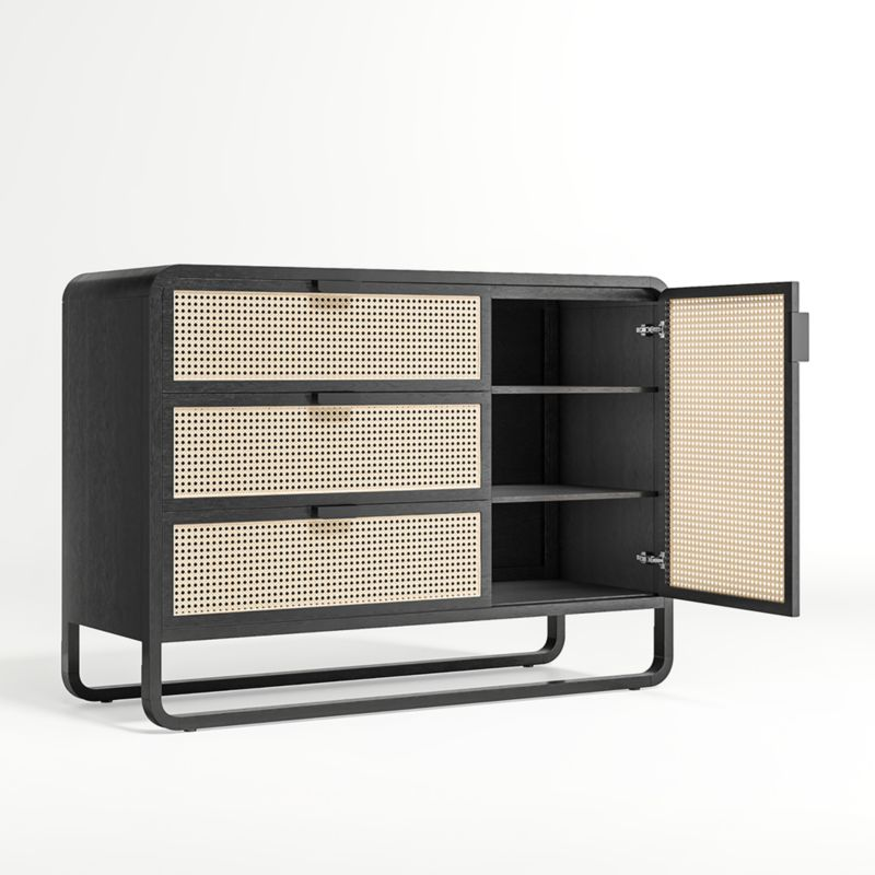 Anaise Cane 3-Drawer Chest