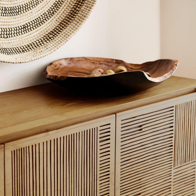 Hallen Reclaimed Wood Centerpiece Bowl