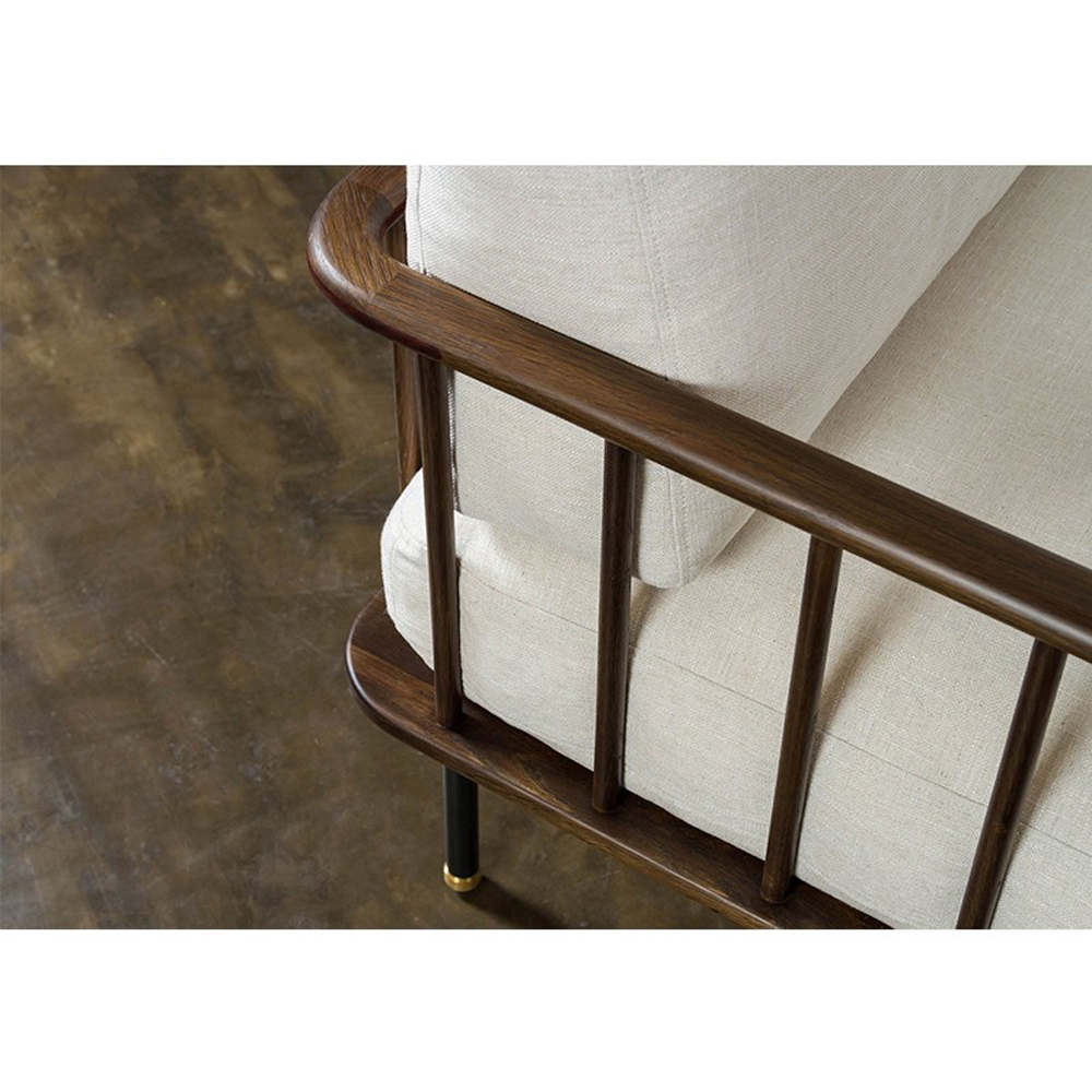 Chambley Accent Chair, Oak
