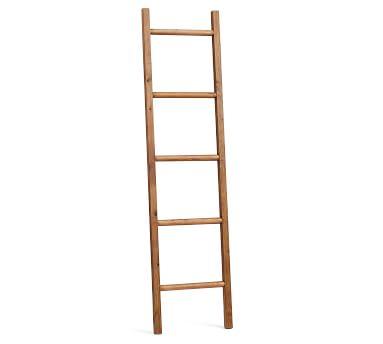 Rustic Bath Ladder, Tawney Pine
