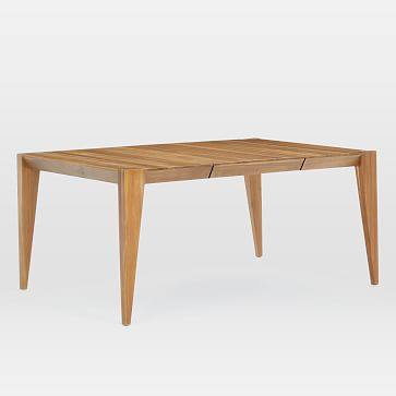 """Anderson Expandable Dining Table, 42-90"""", Carob"""