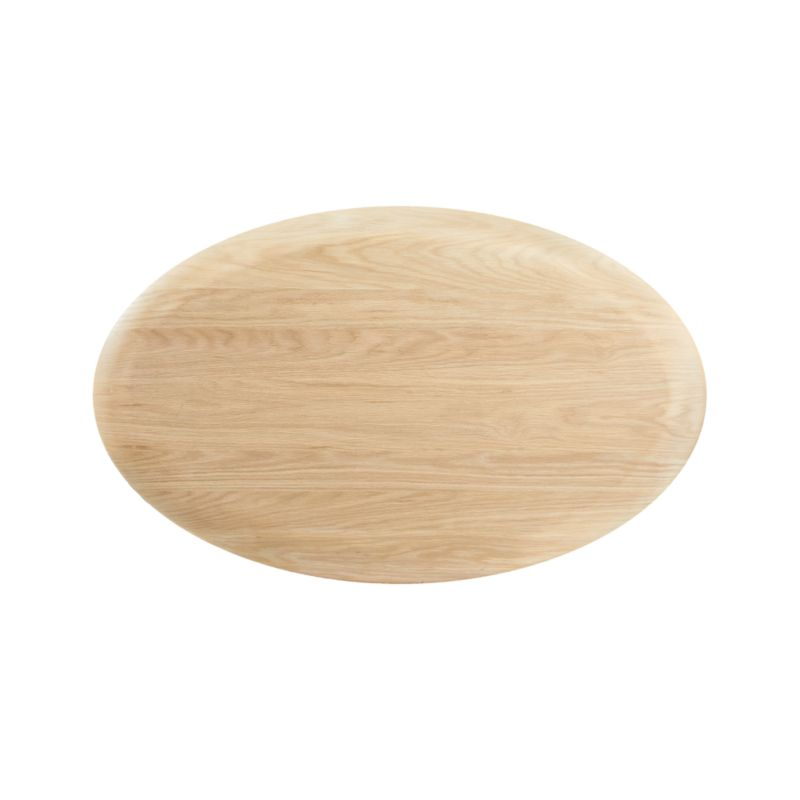 Pacific Natural Wood Oval Coffee Table