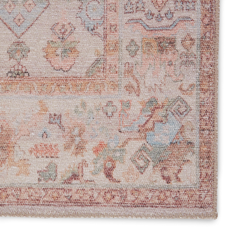"Avin Oriental Area Rug, Blush & Cream, 7'6"" x 9'6"""