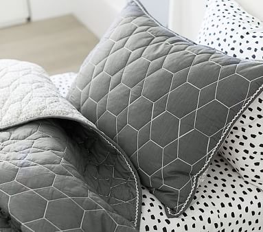Pw Honeycomb Quilt, Twin, Nightshade,