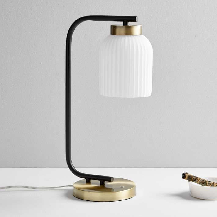 Suspended Glass Table Lamp