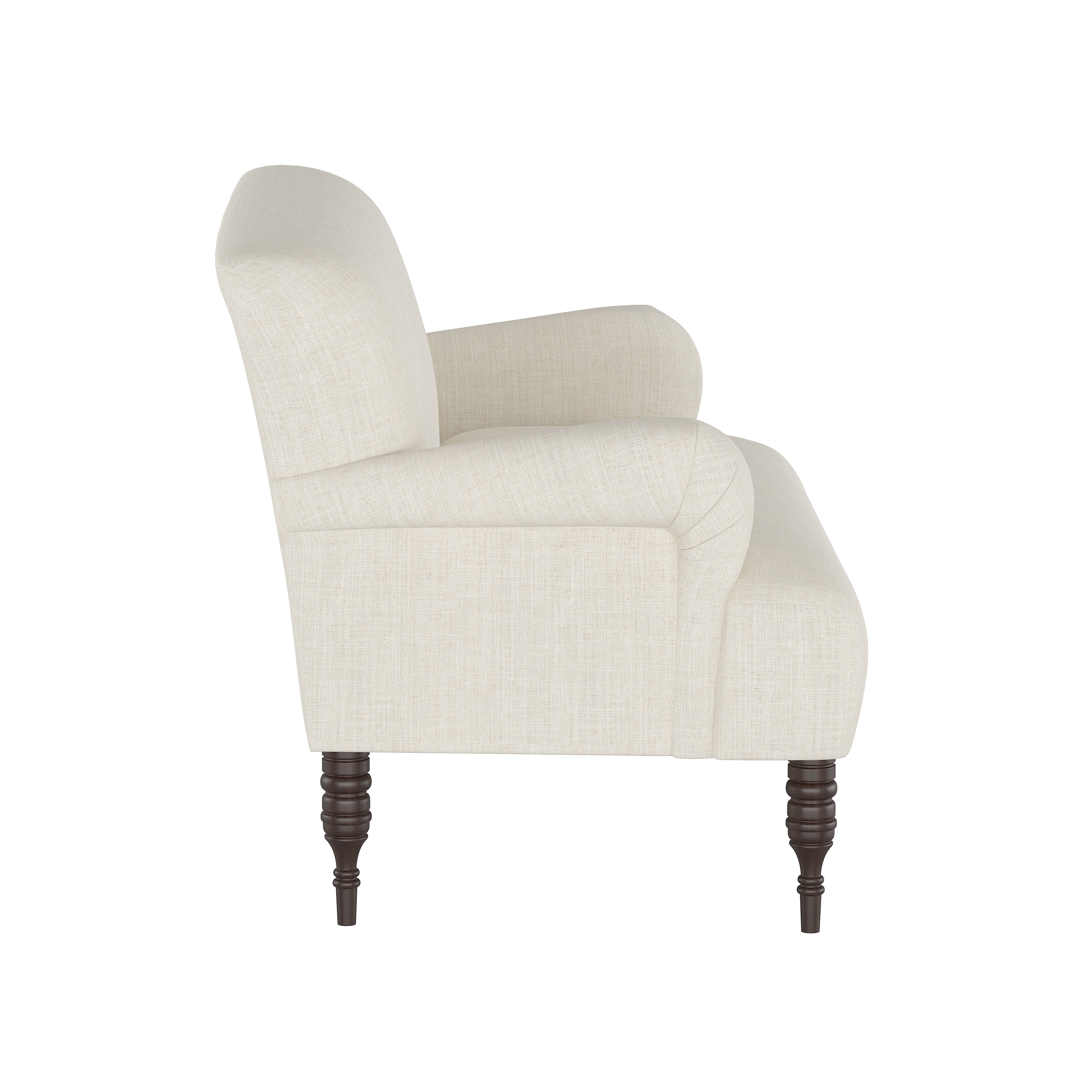 Clermont Settee, Talc